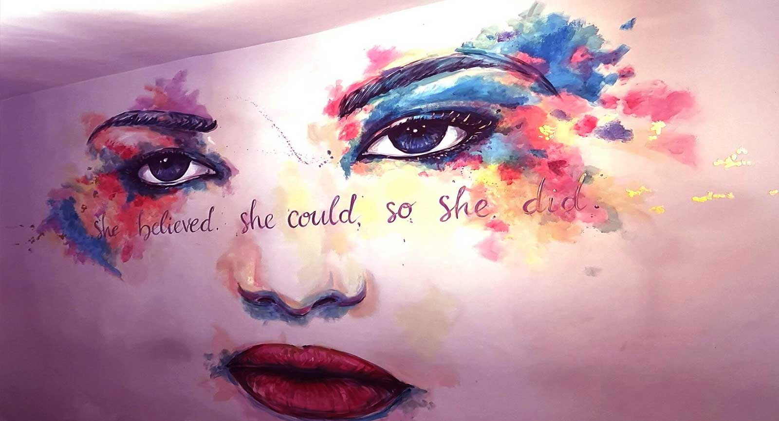 How Hand-painted Mural Art Can Turn Away Depression